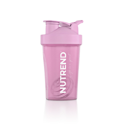 Шейкер Nutrend - 400 мл - розовый - Жизнь - это спорт