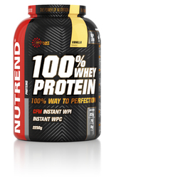100% Вей Протеин/100% WHEY PROTEIN Nutrend,банка 2250г
