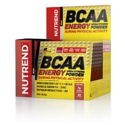 БЦАА энерджи мега стронг/BCAA ENERGY MEGA STRONG Nutrend, пор.12,5 г  №20