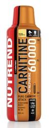 Карнитин 60000+Синефрин/Carnitine 60000+Synephrine Nutrend, бутылка 500мл желтая малина